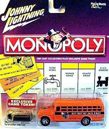 lo último Johnny Lightning Monopoly Get Out of Jail Free '56 Chevy Chevy Chevy Bus by Johnny Lightning  Precio por piso