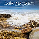 Lake Michigan 2020 12 x 12 Inch Monthly Square Wall Calendar, USA United States of America Travel Scenic Great Lakes (English, French and Spanish Edition)