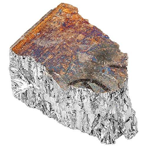 Cristal recubierto de titanio 1000g Bismuto Trozo de lingote