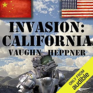 Invasion: California audiobook cover art