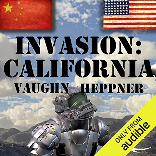 Invasion: California audiobook cover art