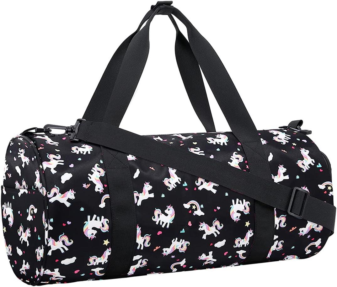 Choco Mocha Overseas parallel import regular item Kids Duffle Bag Girls Gi Unicorn for New mail order Bags