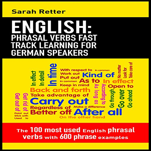 English: Phrasal Verbs Fast Track Learning for German Speakers Titelbild