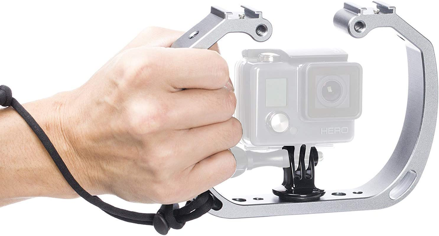 shopping NEW before selling ☆ Movo GB-U70 Underwater Diving Rig for Cold GoPro Shoe Hero with