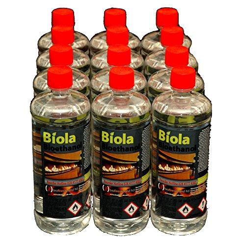 Bio-ethanol 12L BIOETHANOL 'BIOLA' SUPERIOR FUEL