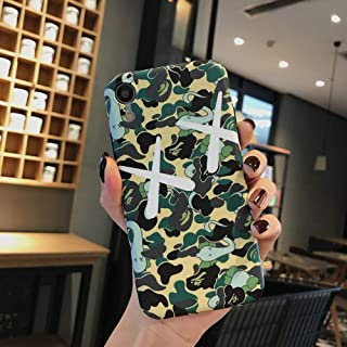 Kplvet iPhone XR Soft Case,IMD Tech Top Sleek Smooth Texture Anti Scratch Non Faded Coloring Premium TPU Slim Fit Case for 6.1 iPhone XR,Street Fashion Trend Phone Cover (XX Camo)