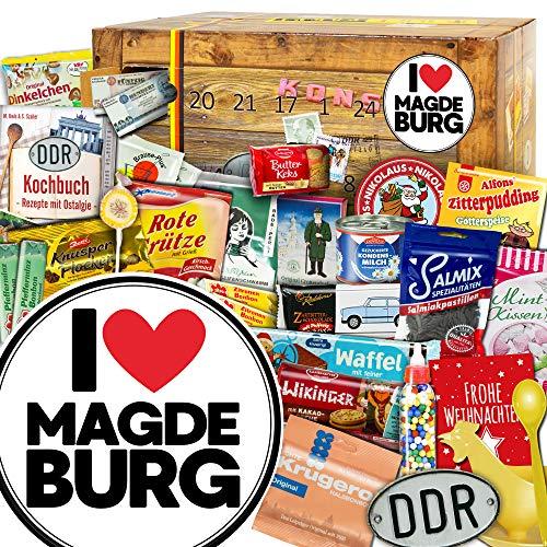 I love Magdeburg / Adventskalender / Ost Paket