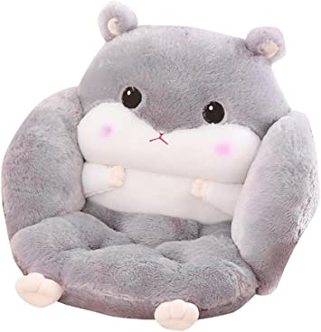 Small, Light Brown Hamster Cushion Cushion Siamese Student Ass Mat