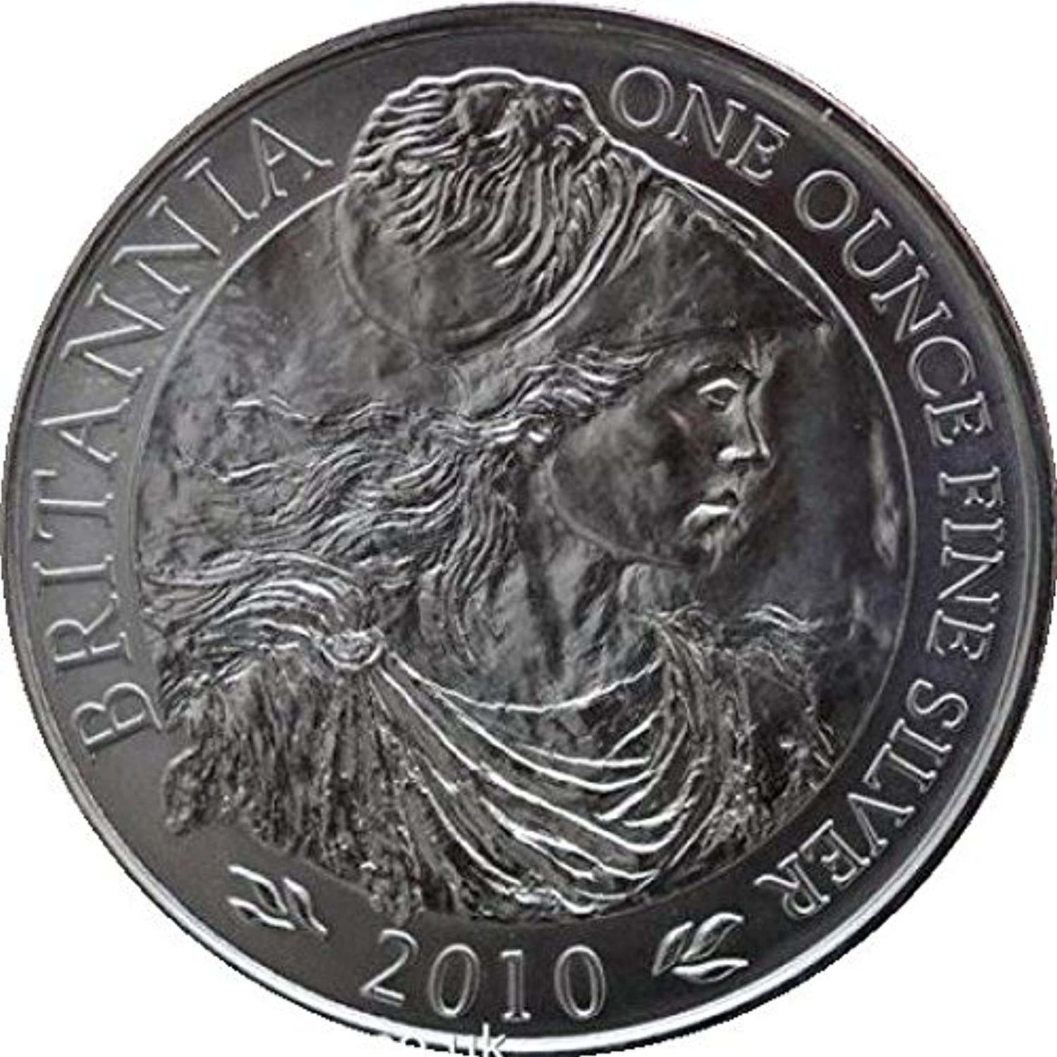 2010 Royal Mint Britannia 1oz Silver Bu Coin