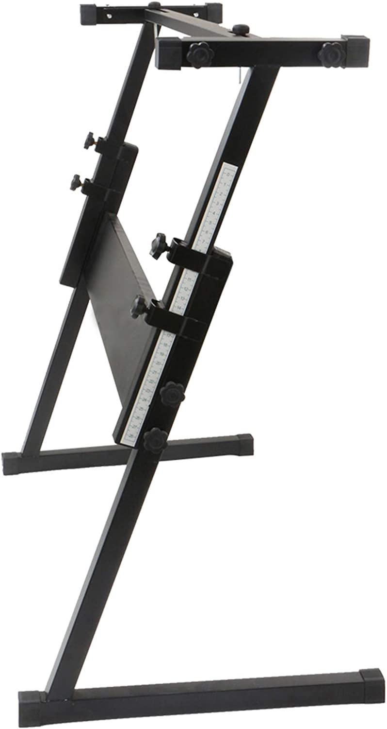 Bysesion OFFer Z-Shape Adjustable Electric 2021 spring and summer new Rack Piano Stand