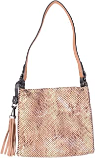 Small Snake Shoulder Bag Khaki
