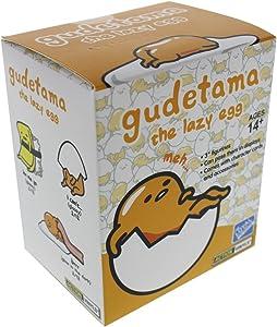 Gudetama Lazy Egg Figurine, Blind Box, Contain 1 Random Figure, 3 Inches Vinyl Figure
