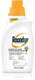 Roundup Concentrate Poison Ivy Plus Tough Brush Killer, 32 oz.