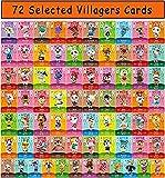 72 tarjetas de juego NFC Tiny Mini para Animal Crossing New Horizons Switch/Switch Lite/Wii U/Nuevo...