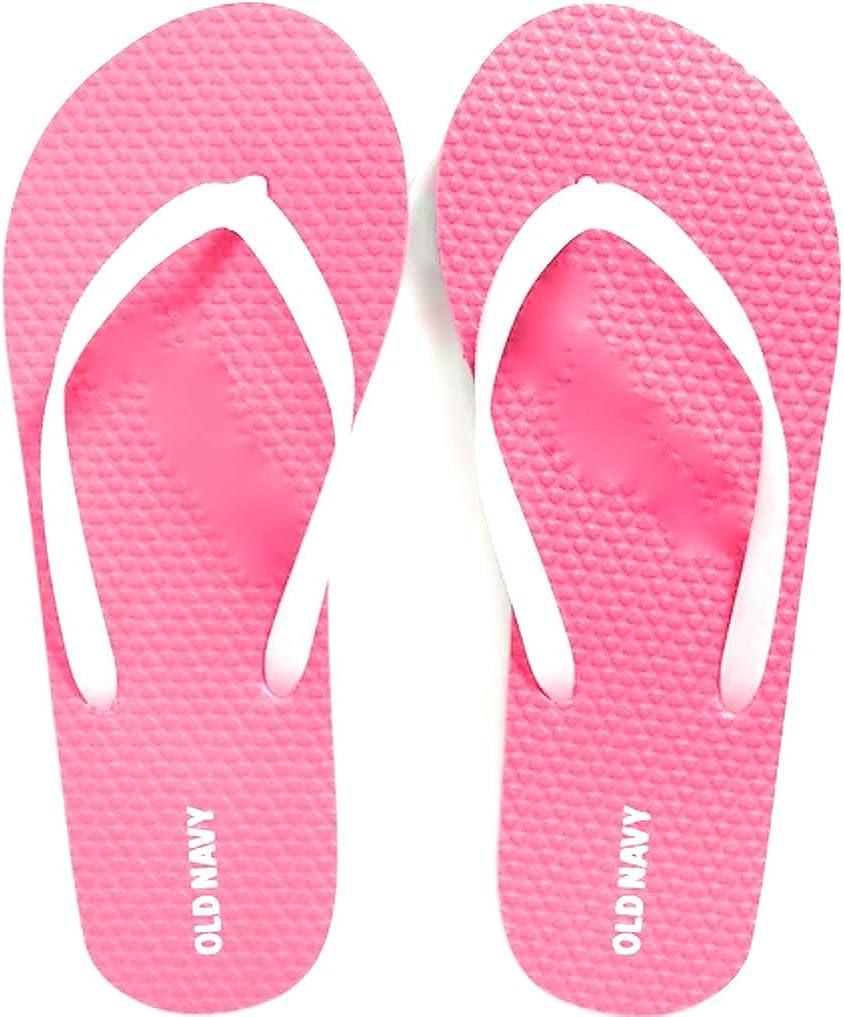 Flip Flops (Pink Begonia Size