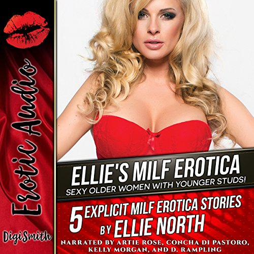 Ellie's MILF Erotica: Sexy Older Women with Younger Studs! audiobook cover art