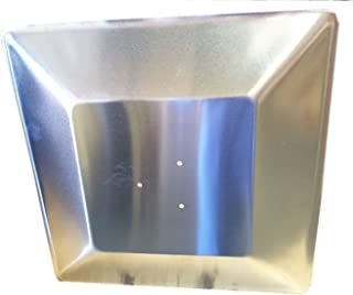 Hiland SGT Glass Tube Heat Shield, Pre Drilled Holes, Square