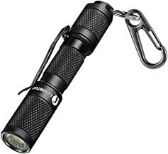 LUMINTOP TOOL AAA Mini EDC Flashlight, Pocket-Sized Keychain Flashlight, Super Bright 130lm OSRAM LED, 3 Modes, IP68 Waterproof, Best Tools for Camping, Hiking, Hunting, Backpacking, Fishing and EDC