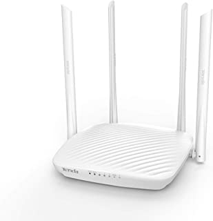 Tenda AC10U Router Smart Gigabit Ac1200, Doble Banda, 4 Antenas 5dBi Omnidireccional, Modulo Inalambrico 2.4G y 5G, Mu-mim...