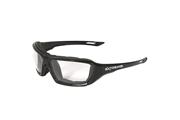 4866c94f8c30 Radians XT1-11 Extremis Full Black Frame Safety Glasses with Clear Anti-Fog  Lens