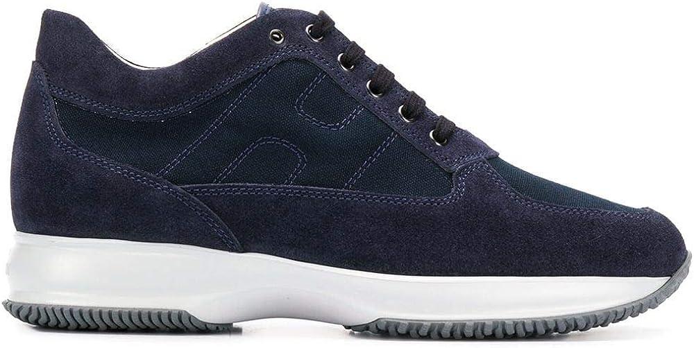Hogan luxury fashion interactive  ,scarpe per uomo,in pelle scamosciata,sneakers HXM00N00E108O6U801