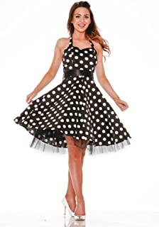 Hearts & Roses Minnie Halter Dress (Shipped from The US and US Sizes)