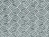 Vorhangstoff Jacquard Dune 2653/72 Muster Geometrie Wellen