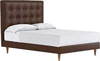 Palmer Drive Upholstered Bed, Carob, Queen
