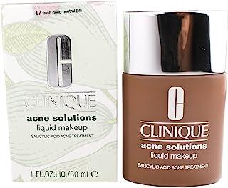 Clinique Acne Solutions Oil-free Anti-blemish Liquid Makeup Foundation - 17 Fresh Deep Neutral (M),1oz/30ml
