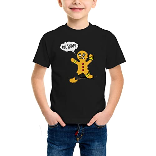 d3eb81d5 Oh Snap - Broken Christmas Cookie Youth T-Shirt