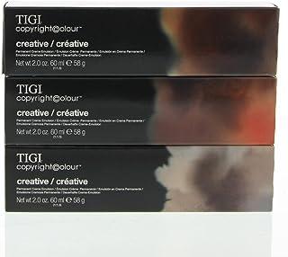 TIGI Colour Gloss Creme Hair Color, #66/65 Intense Red Mahogany Dark Blonde, 60ml