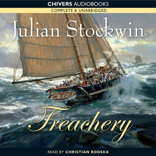 Treachery audiobook cover art