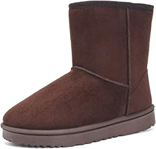 Women's Ankle Boot Winter Outdoor Slip On Warm Snow Boots