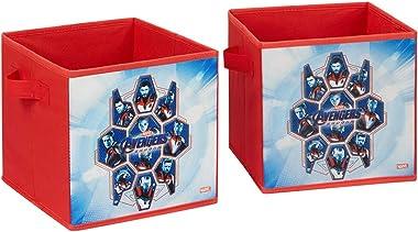 "Fresh Home Elements Storage Toy, 9"" Avengers Bin 2-Pack"