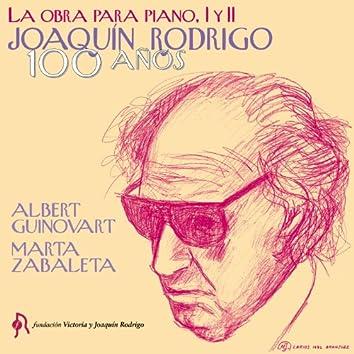 Joaquín Rodrigo. Obra para Piano I