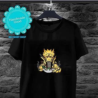 Naruto Shippuden - Kyuubi Nine Tails Mode Ramen Naruto Shippuden T-shirt for men and women