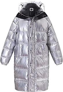 Cloth-yd Women's Novelty Down Coat Winter Thicken Hooded Down Jacket Warm Premium Street Parka