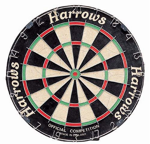 Harrows Official Competition Cibles de fléchettes Bristle de...