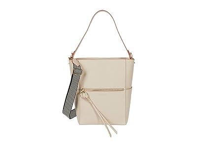 Rebecca Minkoff Gabby Hobo w/ Webbing Strap (Tahini) Handbags