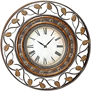 Deco 79 57720 Metal Wall Clock To Track The Time, 36