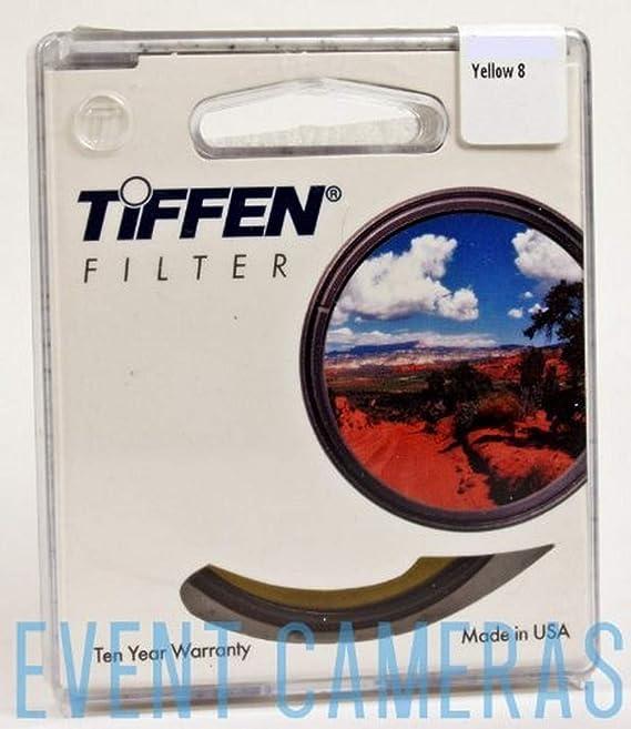 Yellow Tiffen 55mm 8 Filter