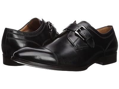 Steve Madden Covet (Black Leather) Men