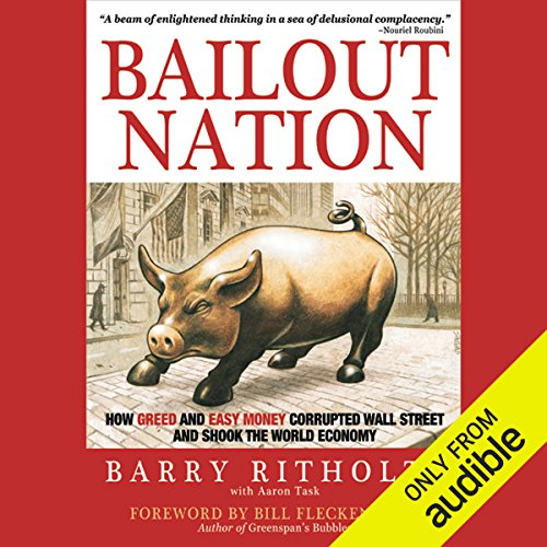 Bailout Nation  audiobook cover art