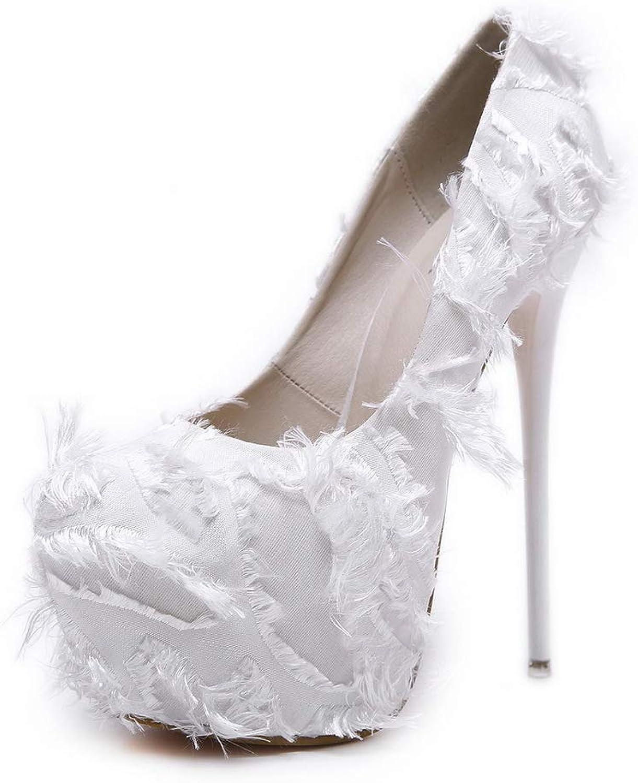 1TO9 Womens Fringed Platform Dance-Ballroom Urethane Sandals MMS06412