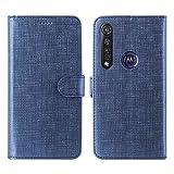 Foluu Motorola One Macro Case, Moto G8 Play Wallet Case