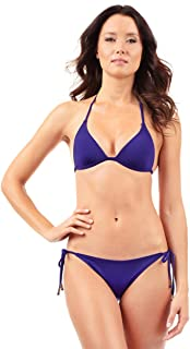 Voda Swim Women's Envy Push up String Bikini Top