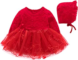 zhbotaolang Newborn Flower Skirt Christening Gowns Full Moon Birthday Banquet Dress