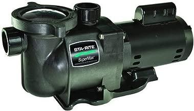 Pentair Sta-Rite N1-1-1/2A HP SuperMax Standard Efficient Single Speed High Performance Inground Pool Pump, 1-1/2 HP, 115/230-Volt