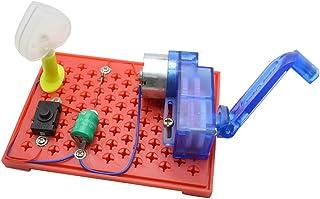 Lorenlli DIY Mod/èle de ventilateur solaire Assembler des kits de construction Exp/ériences scientifiques D/écouverte cr/éative Jouets /éducatifs pour enfants