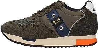 Blauer Scarpe Sneaker Dash in ecosuede/Nylon blu Navy Z21BU02